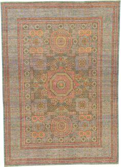 For living room - Blue 9' 10 x 13' 10 Mamluk Ziegler Oriental Rug | Oriental Rugs | eSaleRugs