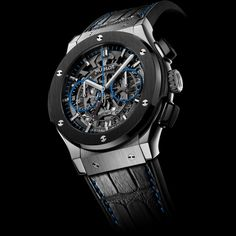 Hublot Classic Fusion Chronograph Aero Selfridges Titanium and Black Ceramic 525.NM.0179.LR.SLF15