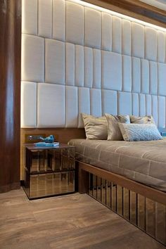 40 The Importance Of Bed Back Design Headboards Master Bedrooms 253 Bed Headboard Design, Headboard Decor, Bedroom Bed Design, Headboards For Beds, Modern Bedroom, Bedroom Decor, Master Bedrooms, Trendy Bedroom, Bed Furniture
