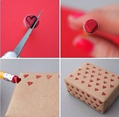 DIY Heart Stamp Pictures, Photos, and Images for Facebook, Tumblr, Pinterest, and Twitter