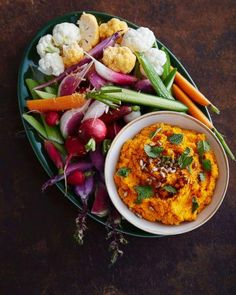 PHOTO: Chef Seamus Mullen shares a recipe for carrot hummus with turmeric. (