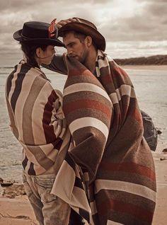 Vogue Rússia Junho 2014 | Amanda Wellsh e Will Chalker por Mariano Vivanco [Editorial]