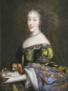 "Henriette-Anne, Charles II's sister (""Minette"") as Dauphine of France."
