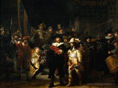 Night Watch, Rembrandt