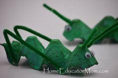 John the Baptist locust craft for kids
