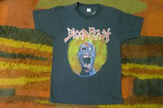 Hey, I found this really awesome Etsy listing at https://www.etsy.com/listing/102686532/vintage-1980s-blood-feast-heavy-death