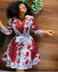 Hello Beautiful Ladies check this Amazing And Stunning Collection Of Ankara styles for you to Stock up in your wardrope just scroll down below and see 250 Most African Print Dress Designs, African Print Clothing, African Print Fashion, Africa Fashion, Tribal Fashion, African Prints, African Fabric, Short African Dresses, Latest African Fashion Dresses