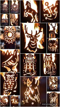 Barrel Fire Pit, Fire Pit Grill, Metal Fire Pit, Fire Pit Backyard, Barrel Projects, Wood Shop Projects, Metal Art Projects, Sheet Metal Art, Scrap Metal Art