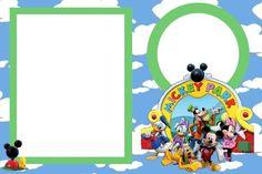 Marcos para fotos de la Casa de Mickey Mouse | Imágenes para Peques