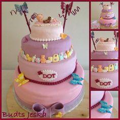 Baby borrel taart