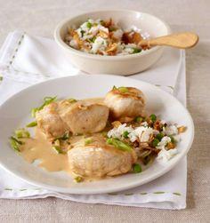 Hähnchenbrust mit Erdnuss-Sauce Rezept - ESSEN & TRINKEN
