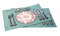 Harvest Books and Crafts - Eat placemats (set of two), £8.00 (http://www.harvestbooks.co.uk/eat-placemats-set-of-two/)