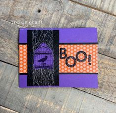 Ghoulish Goodies Halloween Card