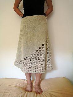 Ravelry: Elderflower Skirt pattern by Ruth Sorensen #knit