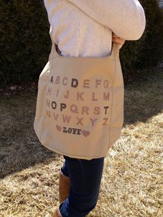 ADOPT bag. Cute gift to give to a friend who is adopting. #adoption #gift www.adoptlanguage.com