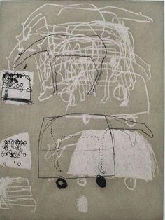'Going' (2008) by Dutch artist Marise Maas (b.1969). Etching, 39.5 x 29.5 cm. via Chrysalis