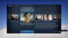 TV - User Interface on Behance