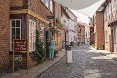 Die Altstadt ART in Lauenburg // #Schifferstadt #Elbe #Lauenburg #Altstadt #AltstadtArt #Kunst #Veranstaltung #MeerART / gepinnt von www.MeerART.de