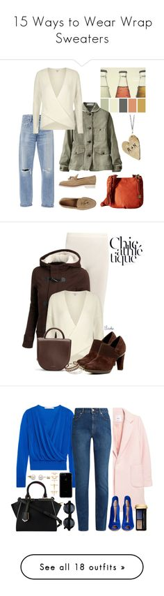 """""""15 Ways to Wear Wrap Sweaters"""" by polyvore-editorial ❤ liked on Polyvore featuring waystowear, wrapsweaters, Citizens of Humanity, Uniqlo, River Island, Lucky Brand, Aranth, Fusalp, Geox and Matt & Nat"""
