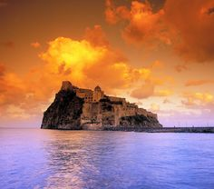 Located on a tiny volcanic island connected to the island of Ischia by a 720-foot bridge, the Castello Aragonese dates back to the 5th century B.C. To protect inhabitants from pirates, Alfonso V of Aragon fortified the castle in the 15th century. Today, visiting the castle is one of Ischia's main attractions.
