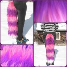 Cheshire Cat Yarn Tail by GetFursonal.deviantart.com on @deviantART