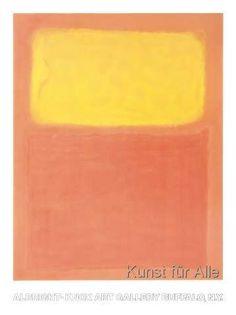Mark Rothko - Orange and Yellow