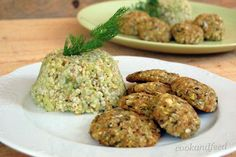 Soya Patties And Bulgur With Zucchini Baked Potato, Mashed Potatoes, Zucchini, Fries, Snacks, Cooking, Ethnic Recipes, Easy, Food