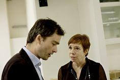 Tracy Metz og Christian Niepoort.