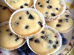 Muffins ai mirtilli   #vegan