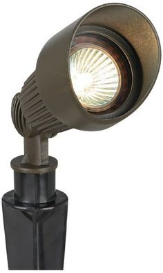 Bronze Hooded MR16 Landscape Spot Light by Universal Lighting and Decor. $29.99. This hooded spot light is a perfect choice for your landscape. Light up trees and other garden features to enhance the look and keep things safe. The classic bullet design comes in a deep bronze finish.. Save 33% Off!