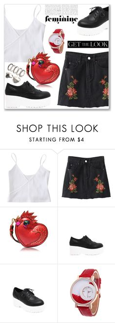 """Casual elegance"" by jecakns ❤ liked on Polyvore featuring MCM and vintage"