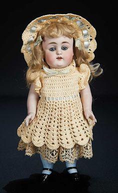Let the Music Begin!: 275 Large German All-Bisque Doll,Model 150,by Kestner
