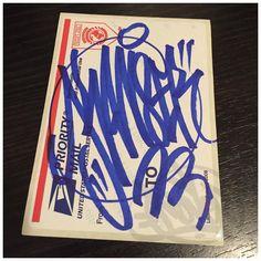 Kanser bye cru - sticker  #kanserbye #228label #slaps #graffiti #handstyler #graffiti #letters #stickers #handstyle