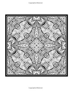 Patterns Coloring Book Vol 2 Colouring Page