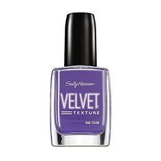 Sally Hansen Special Effects Velvet Texture Nail Color, Velour, 0.4 fl oz