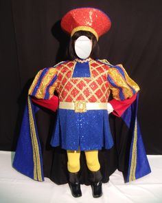 Broadway Costumes, Inc Rent Costumes, Broadway Costumes, Theatre Costumes, Cool Costumes, Halloween Costumes, Halloween Treats, Costume Ideas, Lord Farquaad Costume, Princesas Da Disney Punk