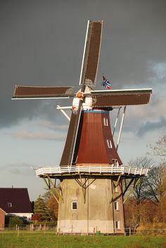 Flour mill De Hoop, Middelstum, the Netherlands