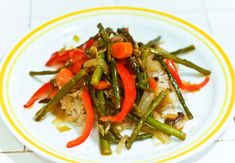 Sweet and Spicy Orange-Glazed Veggies: Check out this recipe for a veggie stir-fry that Karena and Katrina shared in the Tone It Up community group.