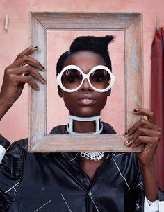 Africa rising on Models.com