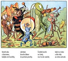 """Bugs' Parade"" - Sekora's wonderful descriptions of insects' world George Costanza, Old Children's Books, Artist Profile, S Stories, Ferdinand, Amazing Adventures, Teaching Kids, Illustration Art, Illustrations"