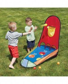 Kids Boule Hoop Toss Panier gonflable Clown Slam cirque Outdoor Pool Party Jeux
