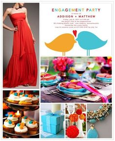 Summer wedding colours