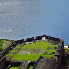 the Fort on the island St John Antigua.