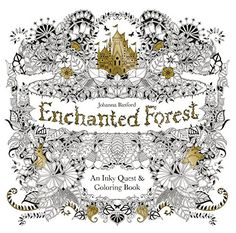 Enchanted Forest: An Inky Quest & Coloring Book: Johanna Basford $15.12