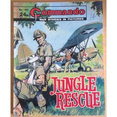 Commando Comic Picture Library #1981 War Action Adventure £2