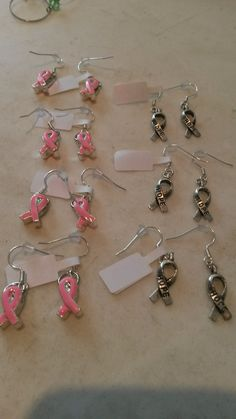Earings for Cansa
