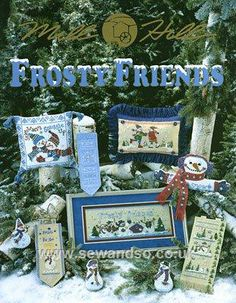 Buy Frosty Friends Chart Booklet online at sewandso.co.uk