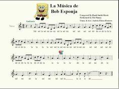 Bob Esponja - Andante Recorder Music, Music Is Life, Sheet Music, Teacher, Youtube, Violin, Ideas Para, Spongebob, Vocal Coach