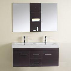Virtu USA UM-3067 Opal Single Sink Bathroom Vanity - Fixture Universe