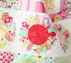 This quilt screams: Happy Spring!!